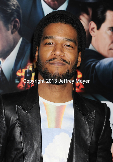 HOLLYWOOD, CA - JANUARY 07: Kid Cudi arrives at the 'Gangster Squad' - Los Angeles Premiere at Grauman's Chinese Theatre on January 7, 2013 in Hollywood, California.