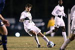 24 November 2013: Wake Forest's Ricky Greensfelder. The Wake Forest University Demon Deacons played the Naval Academy Midshipmen at Spry Stadium in Winston-Salem, NC in a 2013 NCAA Division I Men's Soccer Tournament Second Round match. Wake Forest won the game 2-1.