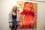 SANTA MONICA - JUN 25: Ashley Hart at the David Bromley LA Women Art Exhibition opening reception at the Andrew Weiss Gallery on June 25, 2016 in Santa Monica, California
