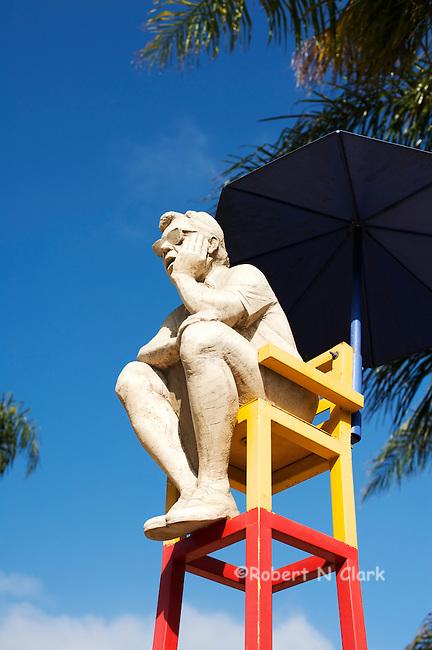 The Thinker, Cedros Design District, Solana Beach