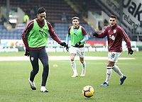 Burnley's Dwight McNeil during the pre-match warm-up <br /> <br /> Photographer Rich Linley/CameraSport<br /> <br /> The Premier League - Burnley v Everton - Wednesday 26th December 2018 - Turf Moor - Burnley<br /> <br /> World Copyright &copy; 2018 CameraSport. All rights reserved. 43 Linden Ave. Countesthorpe. Leicester. England. LE8 5PG - Tel: +44 (0) 116 277 4147 - admin@camerasport.com - www.camerasport.com