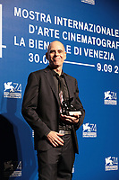 VENICE, ITALY - SEPTEMBER 09: Samuel Maoz poses with the Silver Lion - Grand Jury Prize Award for 'Foxtrot' at the Award Winners photocall during the 74th Venice Film Festival at Sala Casino on September 9, 2017 in Venice, Italy.  ()<br /> CAP/MPI/AF<br /> &copy;AF/MPI/Capital Pictures