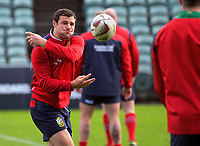 Robbie Henshaw passes during the 2017 DHL Lions Series rugby union  British & Irish Lions captain's run at QBE Stadium in Albany New Zealand on Tuesday, 6 June 2017. Photo: Dave Lintott / lintottphoto.co.nz
