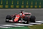 14.07.2017, Silverstone Circuit, Silverstone, FORMULA 1 BRITISH GRAND PRIX 2017, 13.07. - 16.07.2017<br /> , im Bild<br /> Sebastian Vettel (GER#5), Scuderia Ferrari<br /> <br /> Foto &copy; nordphoto / Bratic