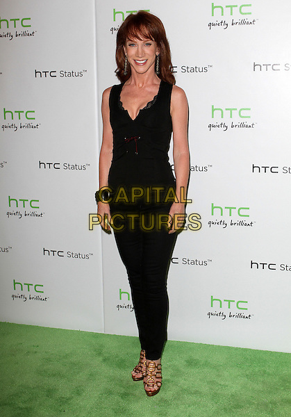 Kathy Griffin.The HTC Statusª Social Launch Event held at Paramount Studios in Hollywood, California, USA..July 19th, 2011.full length sleeveless top black jeans denim .CAP/ADM/KB.©Kevan Brooks/AdMedia/Capital Pictures.