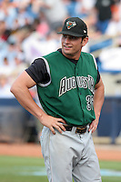 Augusta GreenJackets Mike Mooney before the South Atlantic League All-Star game at Classic Park on June 20, 2006 in Eastlake, Ohio.  (Mike Janes/Four Seam Images)