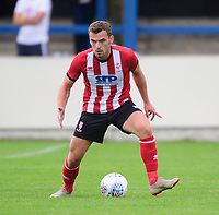Lincoln City's Harry Toffolo<br /> <br /> Photographer Chris Vaughan/CameraSport<br /> <br /> Football Pre-Season Friendly (Community Festival of Lincolnshire) - Gainsborough Trinity v Lincoln City - Saturday 6th July 2019 - The Martin & Co Arena - Gainsborough<br /> <br /> World Copyright © 2018 CameraSport. All rights reserved. 43 Linden Ave. Countesthorpe. Leicester. England. LE8 5PG - Tel: +44 (0) 116 277 4147 - admin@camerasport.com - www.camerasport.com
