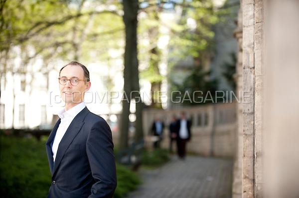 Xavier De Pauw, CEO at MeDirect Bank and board member at Fintech Belgium (Belgium, 20/04/2016)