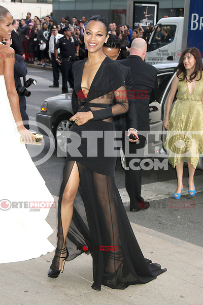 June 04, 2012 Zoe Saldana attends the 2012 CFDA Fashion Awards at Alice Tully Hall Lincoln Center in New York City. © RW/MediaPunch Inc. ****NO GERMANY***NO AUSTRIA****