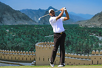 Gaganjeet Bhullar (IND) during the final round of the Oman Open, Al Mouj Golf, Muscat, Sultanate of Oman. 03/03/2019<br /> Picture: Golffile | Phil Inglis<br /> <br /> <br /> All photo usage must carry mandatory copyright credit (&copy; Golffile | Phil Inglis)