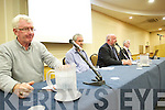 Pictured at the meeting on the school cuts , held in the Brandon hotel on Monday evening