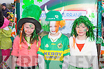 GREEN & GOLD: Having fun at the Castleisland St Patrick's Day Parade l-r: Riona, Kealan and Simone Downey.
