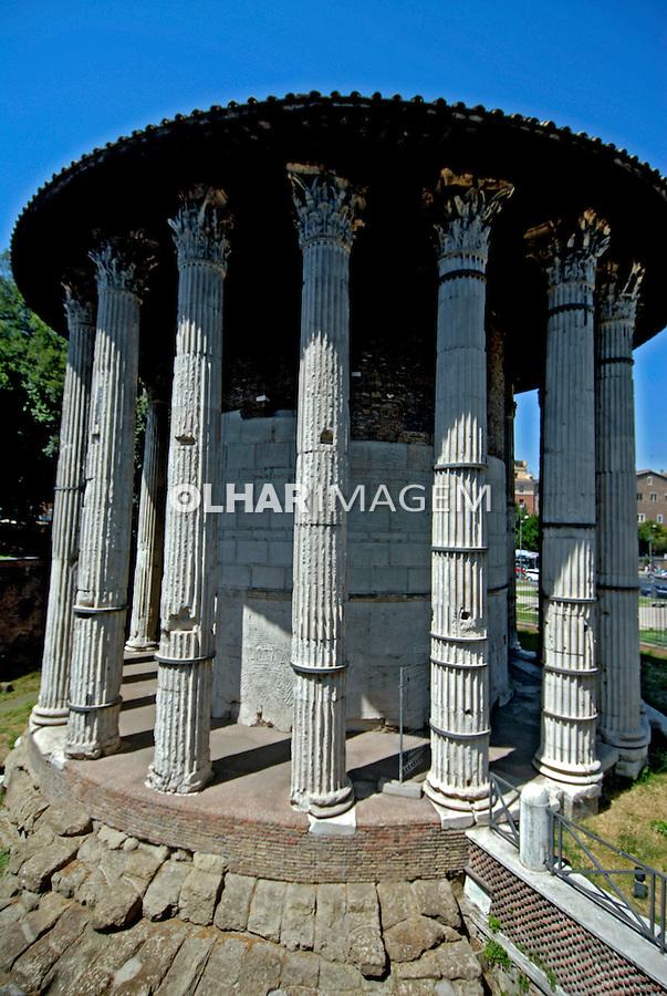 Templo do Forum Boarium em Roma. Italia. 2006. Foto de Luciana Whitaker.