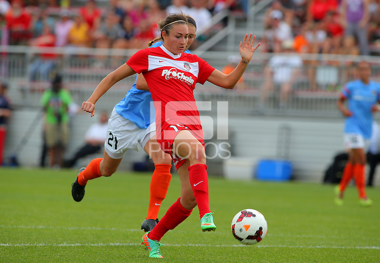 BOYDS, MD - May 26 2014: Washington Spirit v Houston Dash in a NWSL match at Maryland Sportsplex, in Boyds, Maryland. Spirit won 3-2.