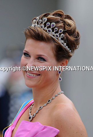 "PRINCESS MARTHA LOUISE.PRINCESS VICTORIA AND DANIEL WESTLING WEDDING.Royal Guests at the wedding  Stockholm_19/062010.Mandatory Credit Photo: ©DIAS-NEWSPIX INTERNATIONAL..**ALL FEES PAYABLE TO: ""NEWSPIX INTERNATIONAL""**..IMMEDIATE CONFIRMATION OF USAGE REQUIRED:.Newspix International, 31 Chinnery Hill, Bishop's Stortford, ENGLAND CM23 3PS.Tel:+441279 324672  ; Fax: +441279656877.Mobile:  07775681153.e-mail: info@newspixinternational.co.uk"