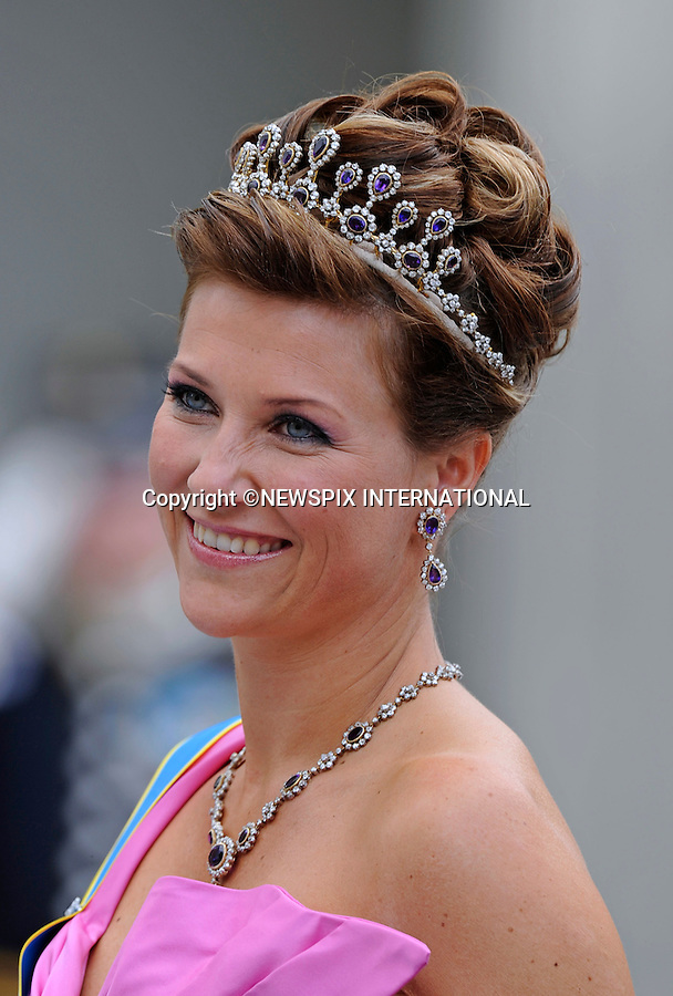 "PRINCESS MARTHA LOUISE.PRINCESS VICTORIA AND DANIEL WESTLING WEDDING.Royal Guests at the wedding  Stockholm_19/062010.Mandatory Credit Photo: ©DIAS-NEWSPIX INTERNATIONAL..**ALL FEES PAYABLE TO: ""NEWSPIX INTERNATIONAL""**..IMMEDIATE CONFIRMATION OF USAGE REQUIRED:.Newspix International, 31 Chinnery Hill, Bishop's Stortford, ENGLAND CM23 3PS.Tel:+441279 324672  ; Fax: +441279656877.Mobile:  07775681153.e-mail: info@newspixinternational.co.uk"