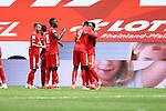 Jean Paul Boetius (FSV Mainz 05) bejubelt den Treffer zum 2:0 mit Jean Philippe Mateta (FSV Mainz 05), <br /> <br /> Sport: Fussball: 1. Bundesliga:: nphgm001:  Saison 19/20: 33. Spieltag: 1. FSV Mainz 05 vs SV Werder Bremen 20.06.2020<br /> <br /> <br /> Foto: Neis/Eibner/Pool/via gumzmedia/nordphoto<br /> <br /> DFB regulations prohibit any use of photographs as image sequences and/or quasi-video.<br /> Editorial Use ONLY<br /> National and International News Agencies OUT<br /> <br />  DFL REGULATIONS PROHIBIT ANY USE OF PHOTOGRAPHS AS IMAGE SEQUENCES AND OR QUASI VIDEO<br /> EDITORIAL USE ONLY<br /> NATIONAL AND INTERNATIONAL NEWS AGENCIES OUT