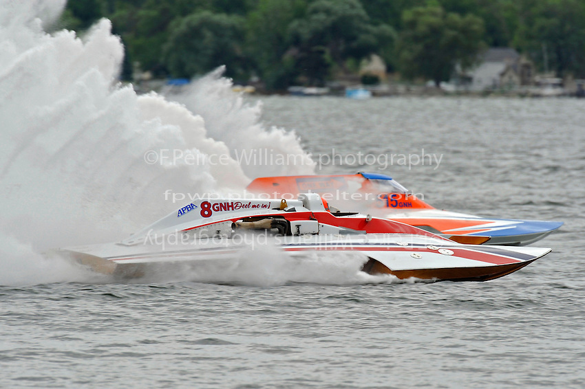 "Cal Phipps, ""Deel Me In"" GNH-8 and Joe Kreitzer, GNH-515 ""One Way""  (Grand National Hydroplane(s)"