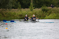 Race: 155  W.J14.2x  Final<br /> <br /> Peterborough Summer Regatta 2018 - Sunday<br /> <br /> To purchase this photo, or to see pricing information for Prints and Downloads, click the blue 'Add to Cart' button at the top-right of the page.