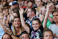 Pictured: <br /> Re: Little Mix concert at the Liberty Stadium, Swansea, Wales, UK. Saturday 07 July 2018