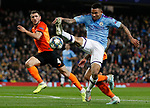 Gabriel Jesus of Manchester City brings the ball down during the UEFA Champions League match against Shakhtar Donetsk at the Etihad Stadium, Manchester. Picture date: 26th November 2019. Picture credit should read: Darren Staples/Sportimage