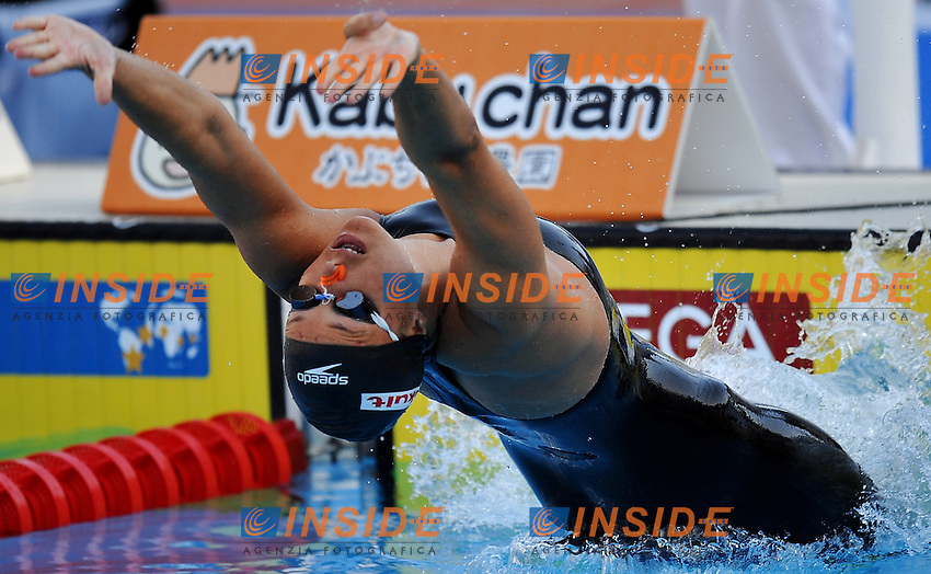 Roma 28th July 2009 - 13th Fina World Championships From 17th to 2nd August 2009....Swimming finals..Women's 100m backstroke..Hayley McGregory (USA)....photo: Roma2009.com/InsideFoto/SeaSee.com
