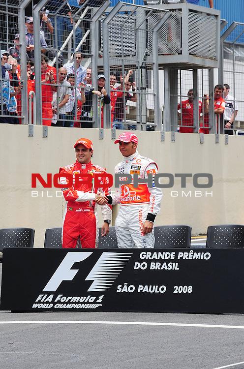 Felipe Massa (BRA), Scuderia Ferrari - Lewis Hamilton (GBR), McLaren Mercedes