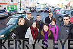 CROSSING: Listowel residents who are calling for a pedestrian crossing on the busy Market Street in the town, front l-r: Siobhan Hanrahan, Dorothy Murphy, Angela Whelan, Kay Heffernan, Cllr Jimmy Moloney. Back, l-r: Cllr Denis Stack, Con Whelan, Ger Greaney.