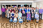 Margaret Hayes Gneeveguilla seated centre celebrated her 60th birthday with her family and friends in the Torc Hotel Killarney on Saturday night