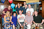 Paul Lehane, Tralee celebrates his 40th birthday with family and friends at the Castle Bar on Saturday