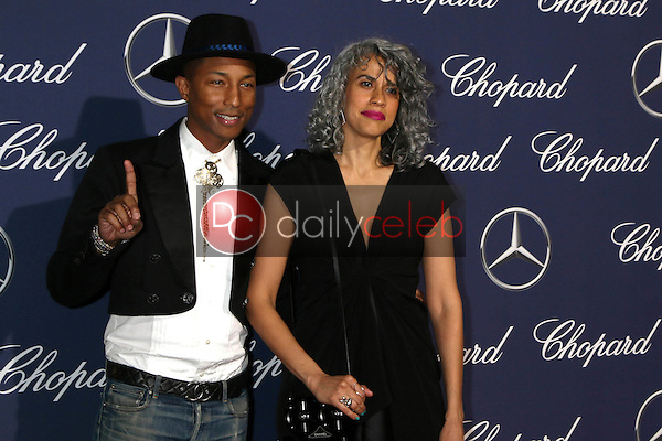 Pharrell Williams, Helen Lasichanh<br /> at the 2017 Palm Springs International Film Festival Gala, Palm Springs Convention Center, Palm Springs, CA 12-02-17<br /> David Edwards/DailyCeleb.com 818-249-4998
