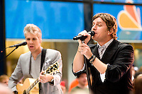 NEW YORK - September 3: Matchbox20 performs live on NBC'S Today Show Toyota Concert Series at Rockefeller Center on September 3 in New York City. Credit: MPI81/MediaPunch Inc. /NortePhoto.com<br />