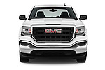 Car photography straight front view of a 2016 GMC Sierra 1500 2WD Crew Cab Short Box 4 Door Pick-up Front View