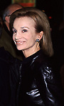 """Lee Radzwill attends the Opening night of """"Though Shalt Not"""" on October 26, 2001 at the Plymouth Theater in  New York City."""