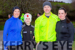 Fidelis O'shea, Cian McAulliffe, Paul and Sheila Keogh Fossa at the Parkrun on Saturday