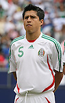 10 June 2007: Mexico's Ricardo Osorio. The Honduras Men's National Team defeated the National Team of Mexico 2-1 at Giants Stadium in East Rutherford, New Jersey in a first round game in the 2007 CONCACAF Gold Cup.