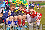Buddy's Jack Landers, Jason O'Sullivan & Shane Coffey from Cahersiveen enjoying the day out in St Brendans Park at the FAI run 5 a-side soccer blitz on Thursday last.