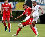 Fortaleza venció 2-1 a Rionegro Águilas, en Bogotá. Fecha 2 Liga Águila II-2016.