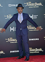 LOS ANGELES, CA. April 4, 2016. Actor Giancarlo Esposito at the world premiere of &quot;The Jungle Book&quot; at the El Capitan Theatre, Hollywood.<br /> Picture: Paul Smith / Featureflash