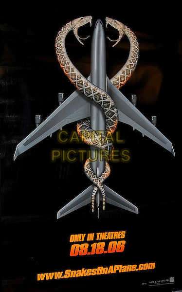 "POSTER.The Newline Cinemas World Premiere of ""Snakes on a Plane"" held at The Grauman's Chinese Theatre in Hollywood, California, USA..August 17th, 2006.www.capitalpictures.com.sales@capitalpictures.com.©Debbie VanStory/Capital Pictures"