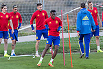 Inaki Williams during the training of Spanish national team under 21 at Ciudad del El futbol  in Madrid, Spain. March 21, 2017. (ALTERPHOTOS / Rodrigo Jimenez)