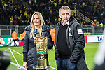05.02.2019, Signal Iduna Park, Dortmund, GER, DFB-Pokal, Achtelfinale, Borussia Dortmund vs Werder Bremen<br /> <br /> DFB REGULATIONS PROHIBIT ANY USE OF PHOTOGRAPHS AS IMAGE SEQUENCES AND/OR QUASI-VIDEO.<br /> <br /> im Bild / picture shows<br /> Frank Baumann (Gesch&auml;ftsf&uuml;hrer Fu&szlig;ball Werder Bremen) beim Pokal, <br /> <br /> Foto &copy; nordphoto / Ewert