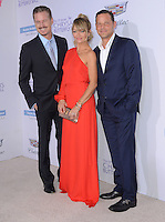 11 June 2016 - Los Angeles. Eric Dane, Rebecca Gayheart-Dane, Justin Chambers. Arrivals for the 15th Annual Chrysalis Butterfly Ball held at a Private Mandeville Canyon Residence. Photo Credit: Birdie Thompson/AdMedia