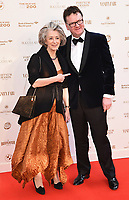 Maureen Lipman, Ewan Venters at The Old Vic Bicentenary Ball held at The Old Vic, The Cut, Lambeth, London, England, UK on Sunday13 May 2018.<br /> CAP/MV<br /> &copy;Matilda Vee/Capital Pictures