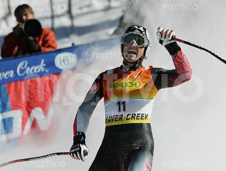 Ski Alpin; Saison 2004/2004 Super G Herren Beaver Creek JUBEL Stephan Goergl (AUT)