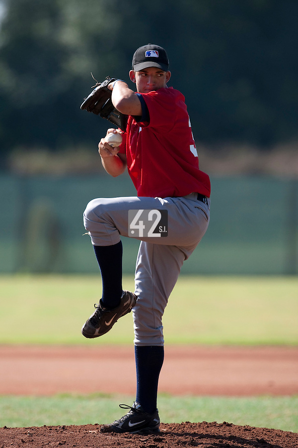 Baseball - MLB European Academy - Tirrenia (Italy) - 21/08/2009 - Shawn Larry (Germany)