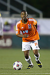 19 April 2014: Carolina's Nick Millington (GUY). The Carolina RailHawks played the Fort Lauderdale Strikers at WakeMed Stadium in Cary, North Carolina in a 2014 North American Soccer League Spring Season match. Carolina won the game 4-1.
