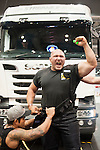 Nagy Akos reacts during the Arnold Classic Asia Pro Strongman 2016 Multi-Sport Festival on 20 August 2016 at the AsiaWorld-Expo, Hong Kong. Photo by Marcio Machado / Power Sport Images