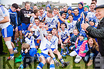 St Mary's team after the Munster intermediate football Final in Killarney on Sunday.