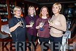 Jean Fitzgerald, Grainne Hynes, Marion Stafford and Sheila Nolan enjoying the evening in Ballygarry House Hotel on Friday.